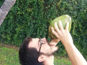 Agua de coco fresquita