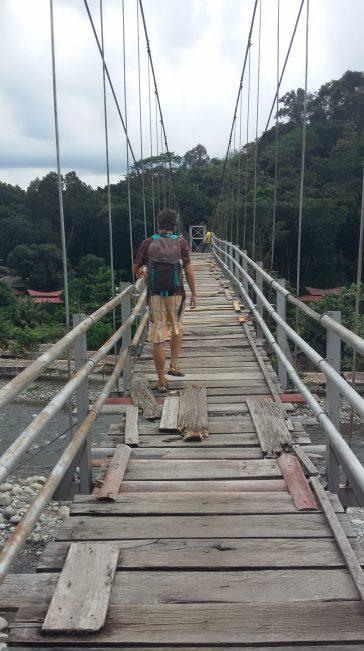 Puente terrorífico